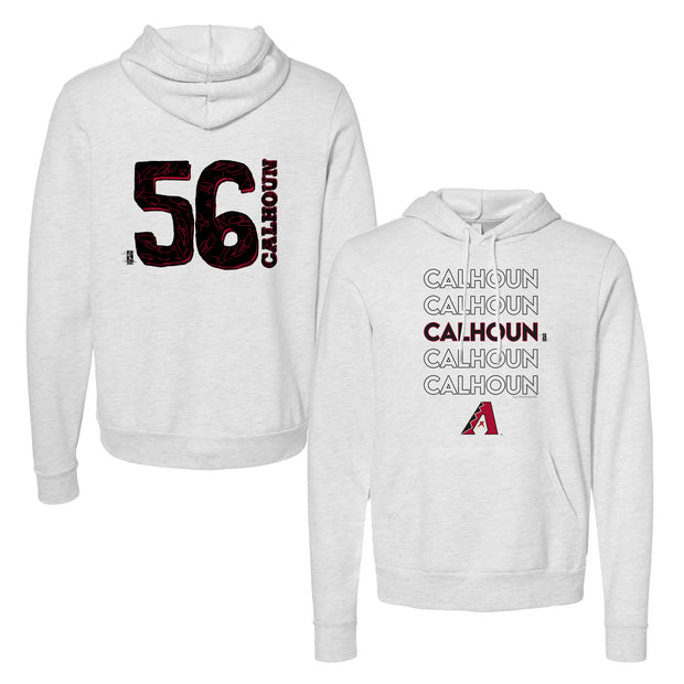Arizona Diamondbacks Kole Calhoun Stacked Unisex Pullover Hoodie