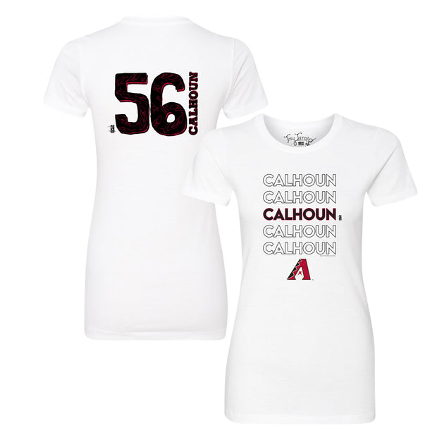Arizona Diamondbacks Kole Calhoun Stacked Tee Shirt