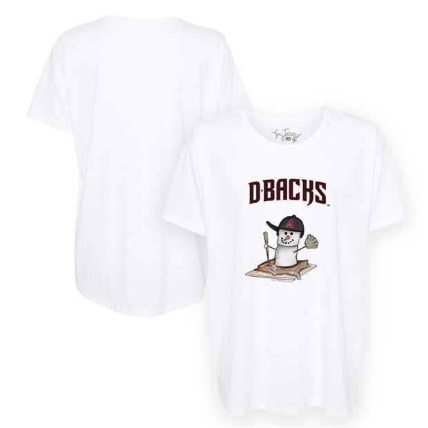 Arizona Diamondbacks S'mores Snowman Tee Shirt