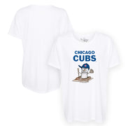 Chicago Cubs S'mores Snowman Tee Shirt