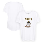 San Diego Padres S'mores Snowman Tee Shirt