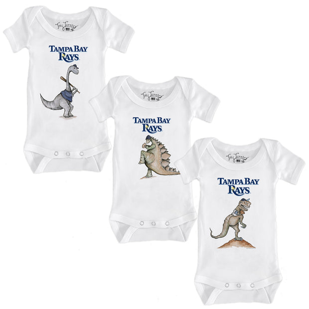 Tampa Bay Rays Dino Infant Short Sleeve Snapper Bundle