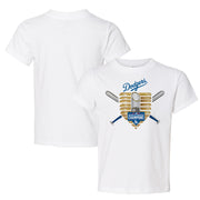 Los Angeles Dodgers 2020 World Series Champions Gold Base Tee Shirt