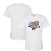 Los Angeles Dodgers 2020 World Series Champions Heart Tee Shirt