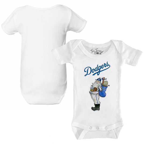 Los Angeles Dodgers 2020 World Series Champions Santa Short Sleeve Snapper