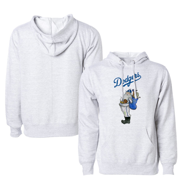Los Angeles Dodgers 2020 World Series Champions Santa Unisex Pullover Hoodie