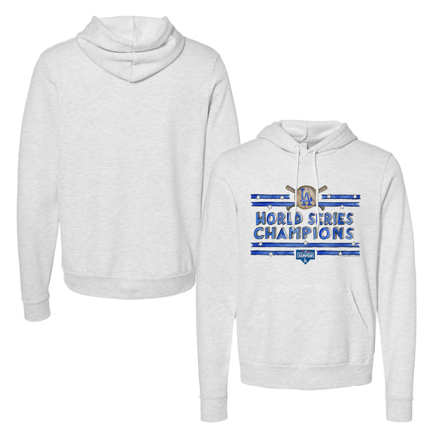 Los Angeles Dodgers 2020 World Series Champions Stars and Stripes Unisex Pullover Hoodie