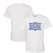 Los Angeles Dodgers 2020 World Series Champions Stars and Stripes Tee Shirt