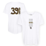 San Diego Padres Kirby Yates Stacked Tee Shirt