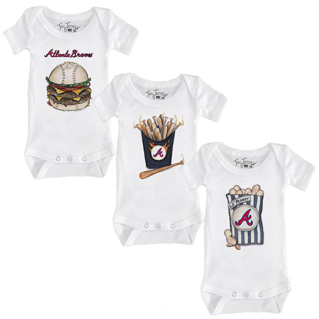 Atlanta Braves Food Short Sleeve Snapper Bundle