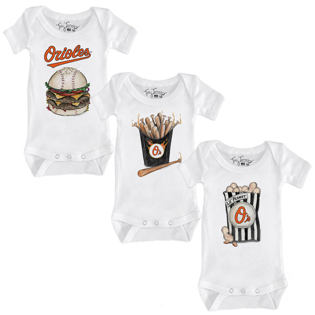 Baltimore Orioles Food Short Sleeve Snapper Bundle
