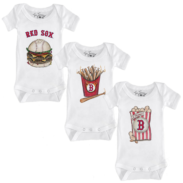 Boston Red Sox Food Short Sleeve Snapper Bundle
