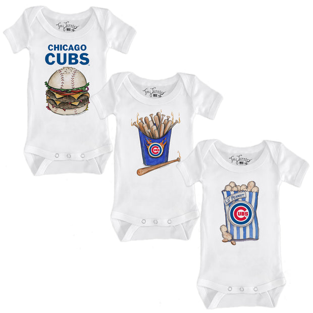 Chicago Cubs Food Short Sleeve Snapper Bundle