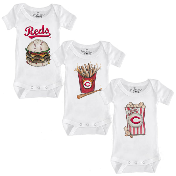 Cincinnati Reds Food Short Sleeve Snapper Bundle