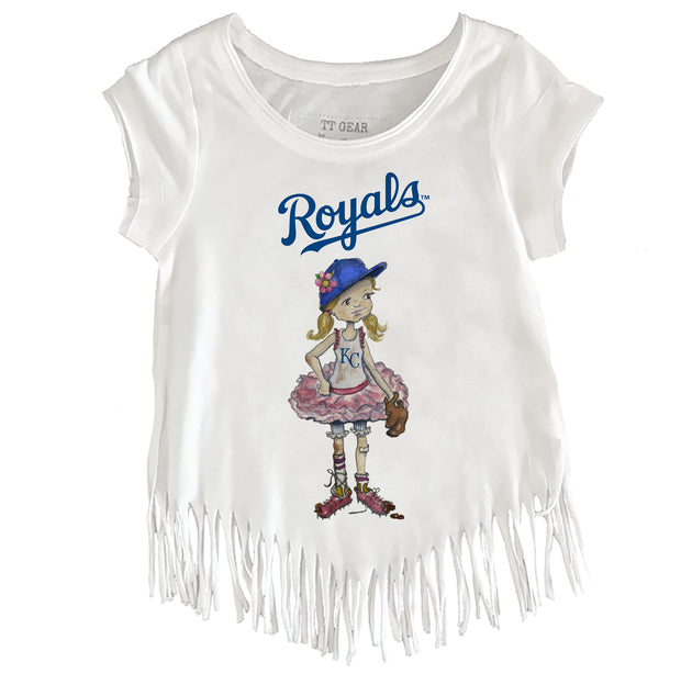 Kansas City Royals Babes Fringe Tee