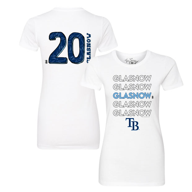 Tampa Bay Rays Tyler Glasnow Stacked Tee Shirt