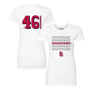 St. Louis Cardinals Paul Goldschmidt Stacked Tee Shirt