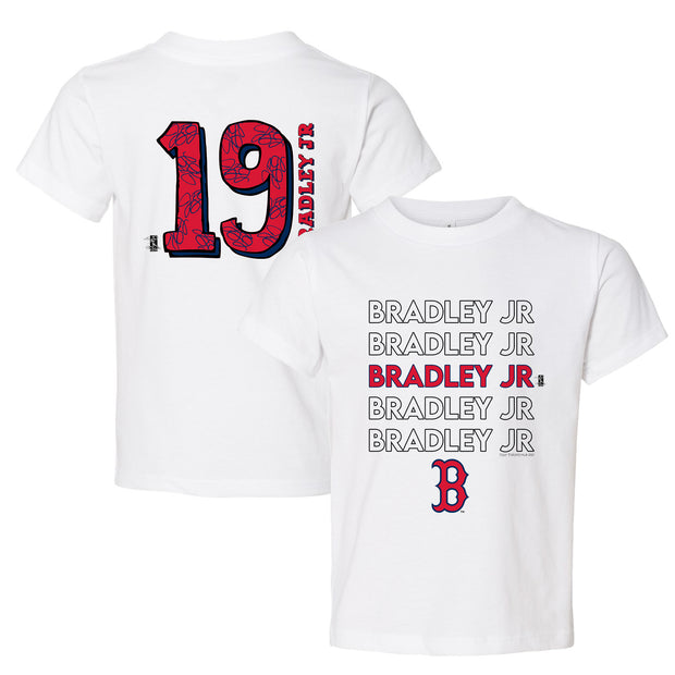 Boston Red Sox Jackie Bradley Jr. Stacked Tee Shirt