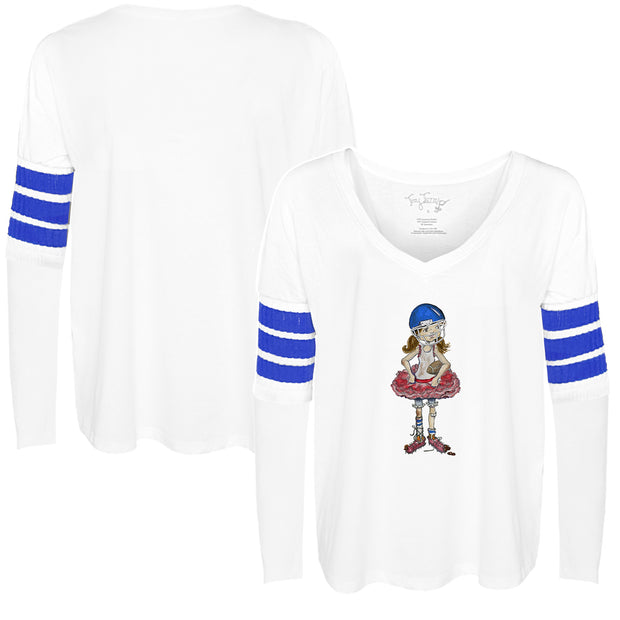 Tiny Turnip Football Babes Long Sleeve Jalynne Jersey