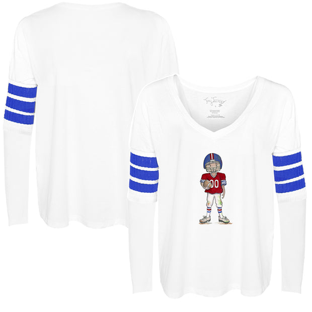 Tiny Turnip Football Freddie Long Sleeve Jalynne Jersey