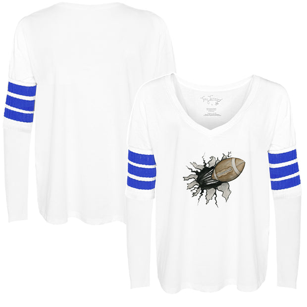 Tiny Turnip Football Tear Long Sleeve Jalynne Jersey