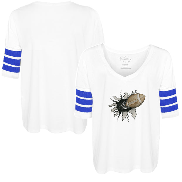 Tiny Turnip Football Tear Short Sleeve Jalynne Jersey