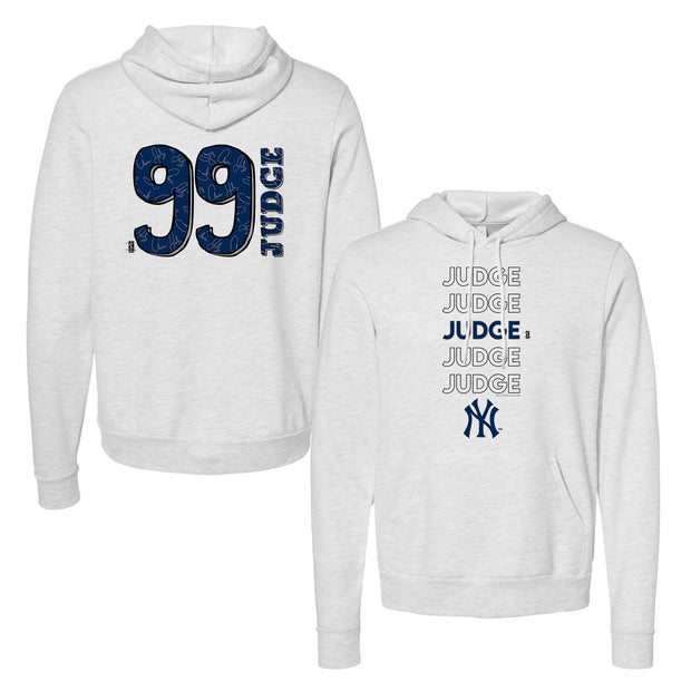 New York Yankees Aaron Judge Stacked Unisex Pullover Hoodie