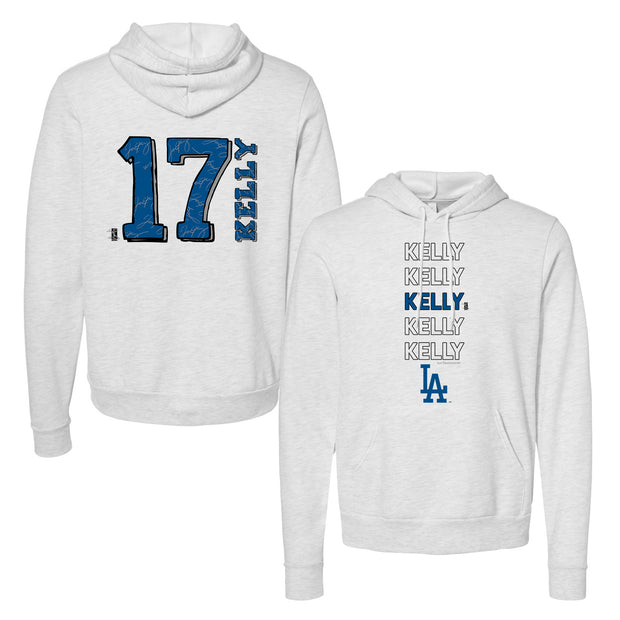 Los Angeles Dodgers Joe Kelly Stacked Unisex Pullover Hoodie