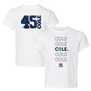 New York Yankees Gerrit Cole Stacked Tee Shirt