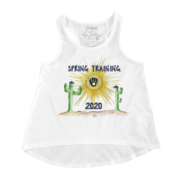 Milwaukee Brewers Youth 2020 Spring Training Aubri Tank