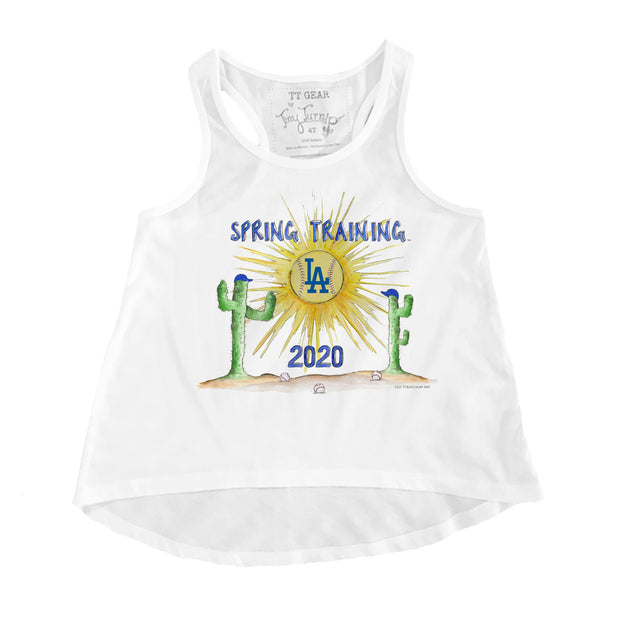 Los Angeles Dodgers Toddler 2020 Spring Training Aubri Tank