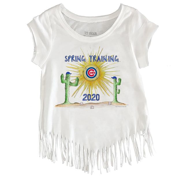 Chicago Cubs Youth 2020 Spring Training Fringe Tee