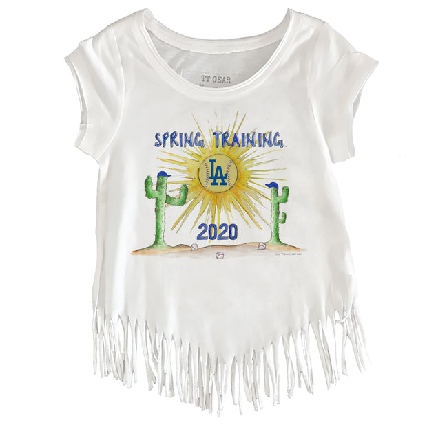 Los Angeles Dodgers Toddler 2020 Spring Training Fringe Tee