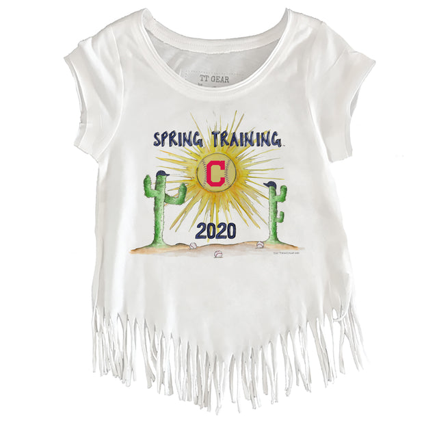 Cleveland Indians Youth 2020 Spring Training Fringe Tee