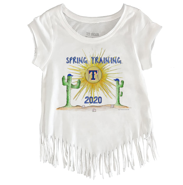 Texas Rangers Toddler 2020 Spring Training Fringe Tee