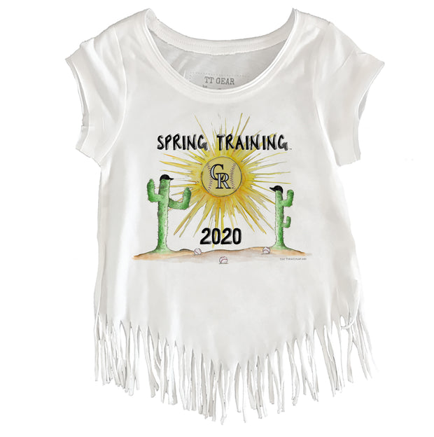 Colorado Rockies Youth 2020 Spring Training Fringe Tee