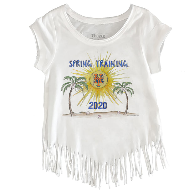 New York Mets Youth 2020 Spring Training Fringe Tee