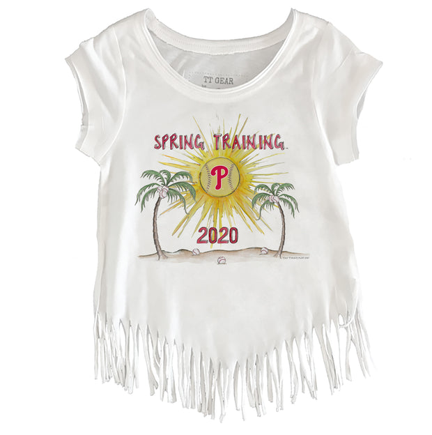 Philadelphia Phillies Youth 2020 Spring Training Fringe Tee