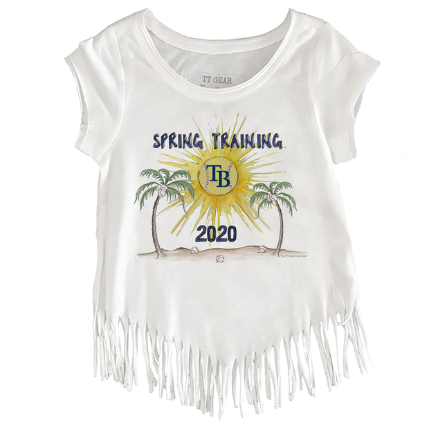 Tampa Bay Rays Toddler 2020 Spring Training Fringe Tee