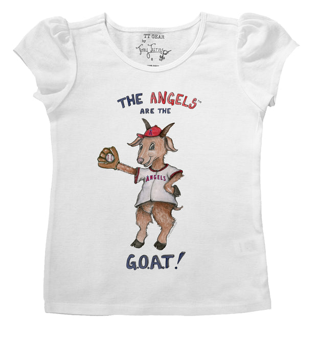 Los Angeles Angels Infant G.O.A.T! Puff Sleeve Tee