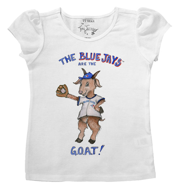 Toronto Blue Jays Infant G.O.A.T! Puff Sleeve Tee