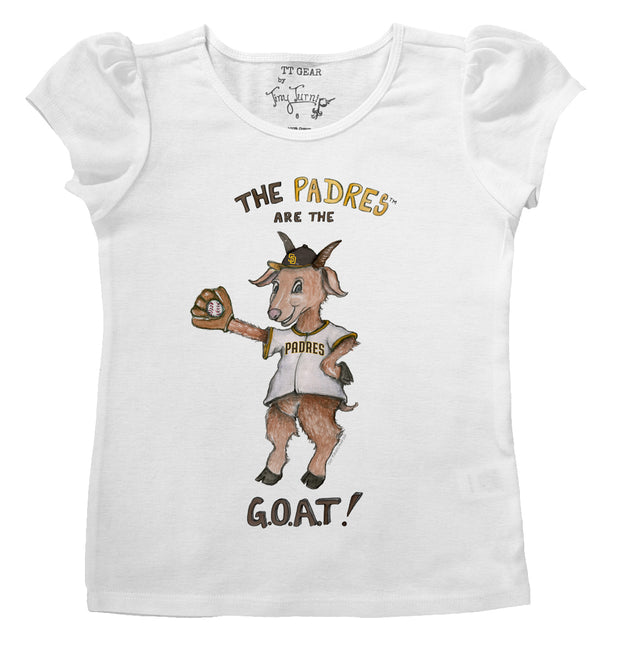 San Diego Padres Infant G.O.A.T! Puff Sleeve Tee