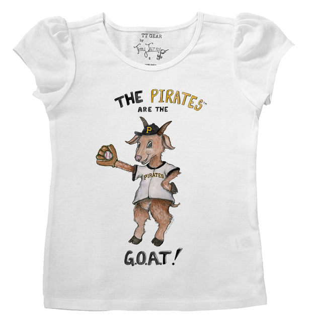 Pittsburgh Pirates Infant G.O.A.T! Puff Sleeve Tee
