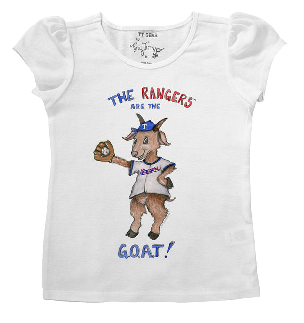 Texas Rangers Infant G.O.A.T! Puff Sleeve Tee