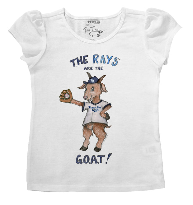 Tampa Bay Rays G.O.A.T! Puff Sleeve Tee