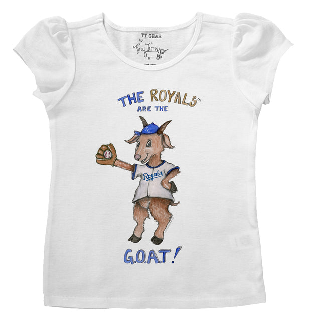 Kansas City Royals Infant G.O.A.T! Puff Sleeve Tee