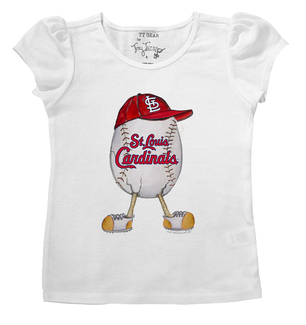 St. Louis Cardinals Infant The Egg Puff Sleeve Tee