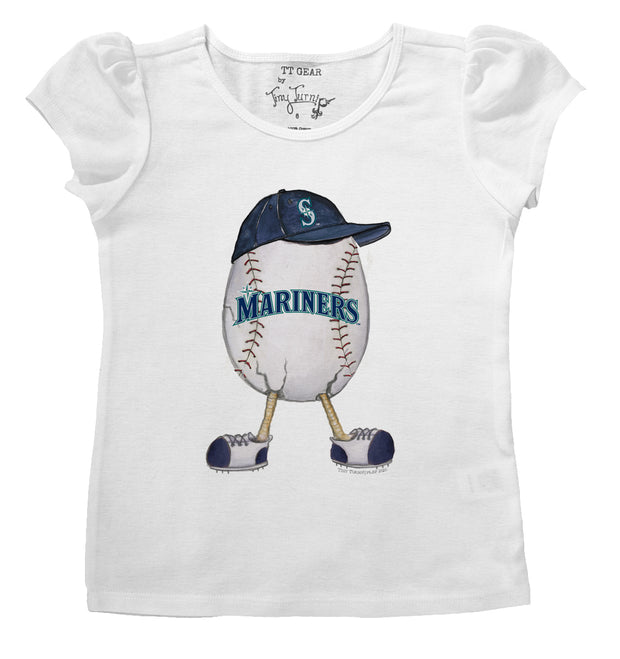 Seattle Mariners The Egg Puff Sleeve Tee