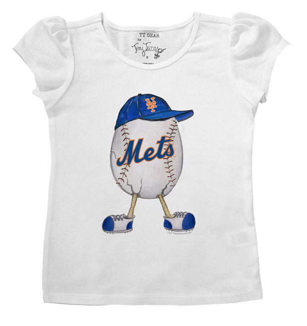 New York Mets The Egg Puff Sleeve Tee