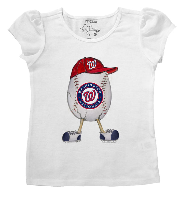 Washington Nationals The Egg Puff Sleeve Tee